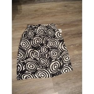 clements ribeiro Skirts - Black/white circle skirt size 4